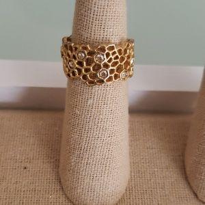 C+I Honeycomb Ring